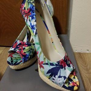 Apt. 9 Floral shoes